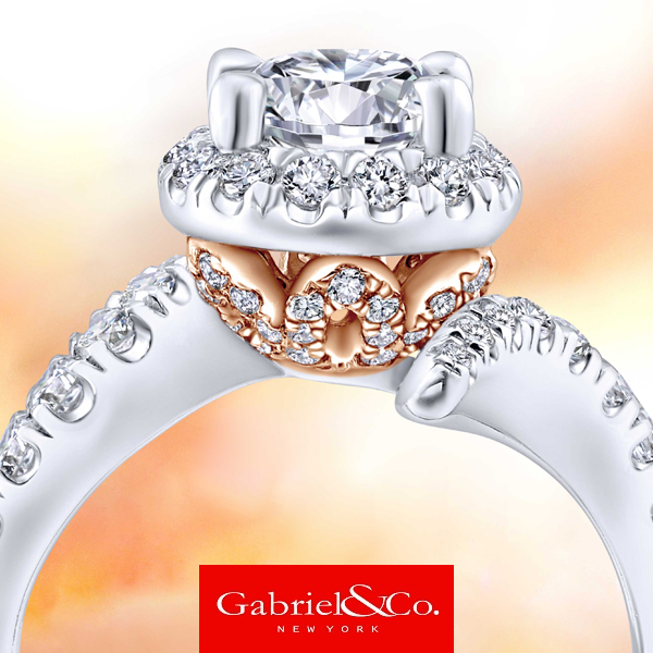 We sell Gabriel and Co. Engagement Rings at Leightons Fine Diamonds and jewelry