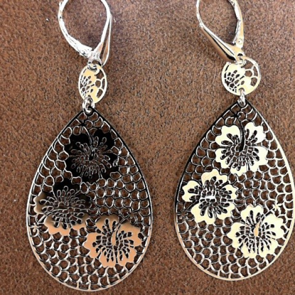 Earrings by Leslie