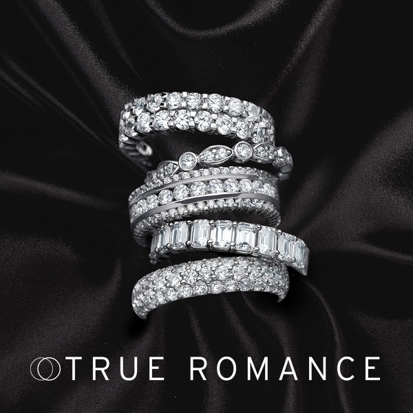 True Romance diamond engagement rings